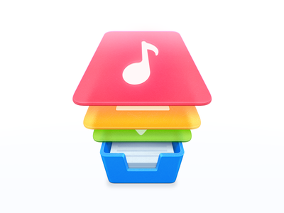 Icon for SmartFinder | @2x tray music image download documents contact smartisan icon