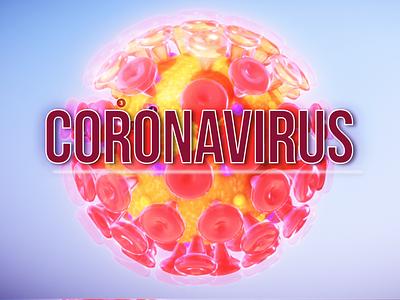 Coronavirus branding logo design corporate
