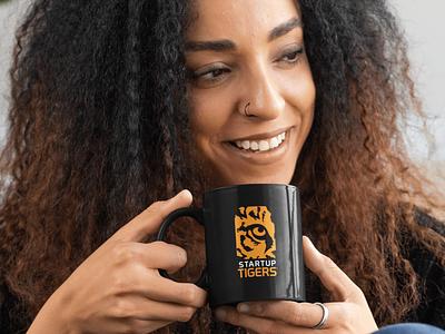 Startup Tiger Logo ux branding photography design logo
