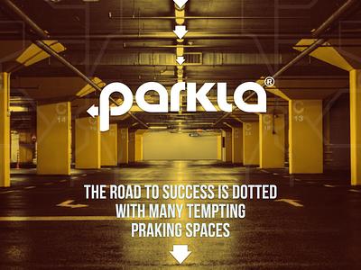 Parkla ui branding logo photography design