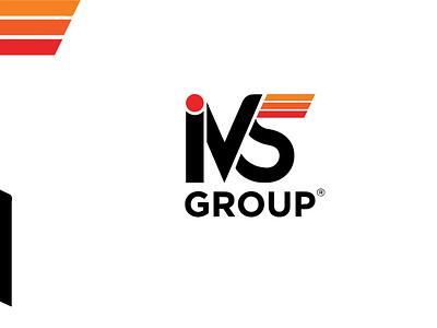 IVS Logo Branding design clean illustration logo branding