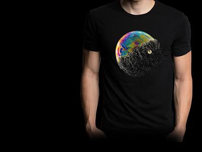 T Shirt design creative photography logo design