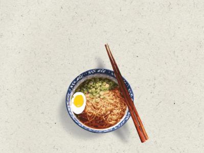 Food Illustrations design illustration branding