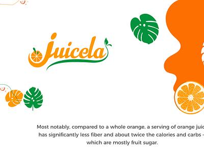 Juicela Logo Branding ux branding logo corporate