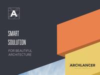 Archlancer Branding material design