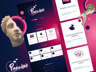 Piece of the process website Pinnedink