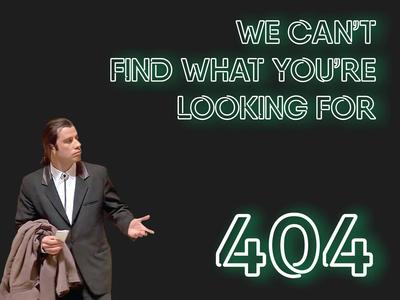 John Travolta perplexed