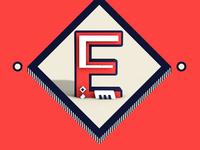 letter E #1