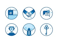 Core values icons