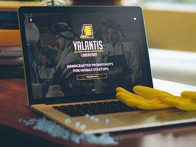 Yalantis Lab yalantis laboratory lab promoshots flat landing web website clean breaking bad