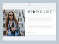 DailyUI#035 - Blog Post
