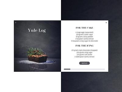 DailyUI#040 - Recipe amplitude ds title dailyui ui recipe design dailyui040