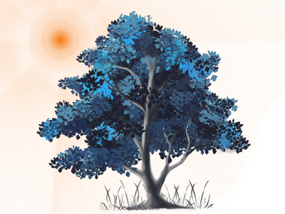 3D Tree I Illustration