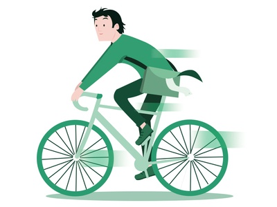 Cyclist bicycle cyclist vector artwork vector art illustration art designmatters motion art illustrator art illustrator flat  design 2dart character art vector 2d illustration francescatabasso design flat character design character