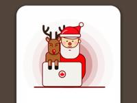 Santa is watching you!