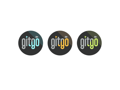 Gitgo Productions cinema video circle media film brand logo