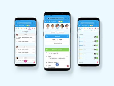 Mobile app - Nounous