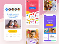 Happy Customers Landing Page