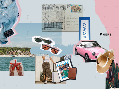 Yotpo+Away: Brands Are Making Old School Cool Again yotpo collage ugc social branding