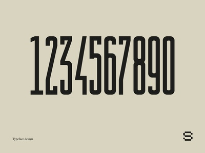 typeface01 | numbers