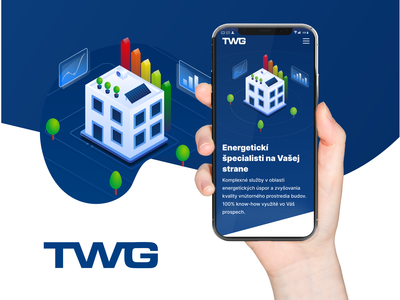 TWG Energy - webdesign illustrations webdesign