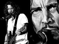 Chris Cornell Illustration