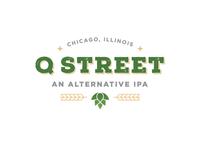 Q Street Beer - Concept Logo #3