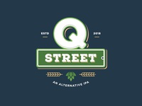 Q Street Beer - Concept Logo #4