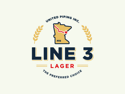 Line 3 Lager Logo
