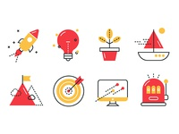 Icons for Catena Media