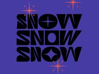 Snow - Type Experiment