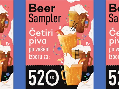 Flyer for Sprat Bar