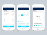 Restaurant payment app