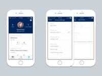 Profile mobile app