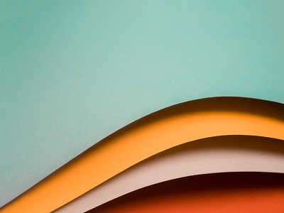 AIGA Cincinnati Design Week gradient shadows photography layers paper design week cincinnati aiga identity brand construct color palette