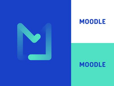 Moodle redesign concept moodle template moodle web design app brands brand logo