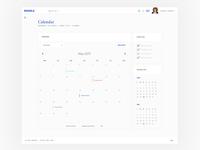 Moodle theme - calendar