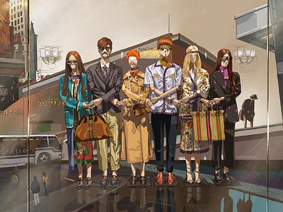 Fashion fashion illustration fashion digital illustration digital painting digital art digitalart digital art illustration