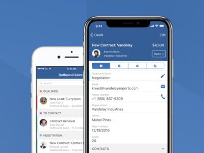 ActiveCampaign Deals CRM app
