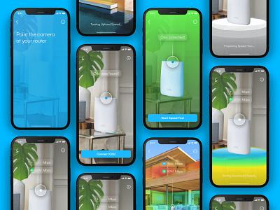 Netgear creative direction branding web clean user interface product design mobile iphone design minimal user experience app interface ios ux ui