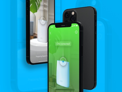 Netgear design minimal user experience app interface ios ux ui