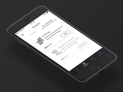 Dealers iphone ios app product design interface ui ux rewards sales dealer dealership car