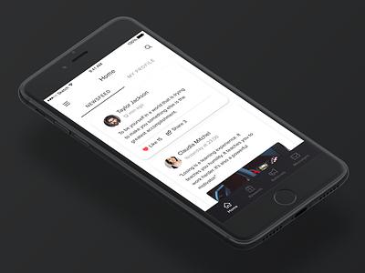 Dealers ux ui sales rewards product design iphone ios interface dealership dealer car app