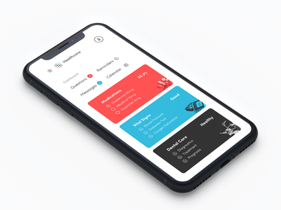 Healthcare interface ui ux iphone mobile app ios medical hospital doctor healthcare health