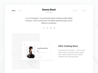 Designer Portfolio Site
