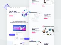 UXfol.io Landing Page