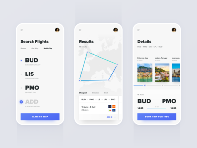 Flexible Multi-City Flight Search