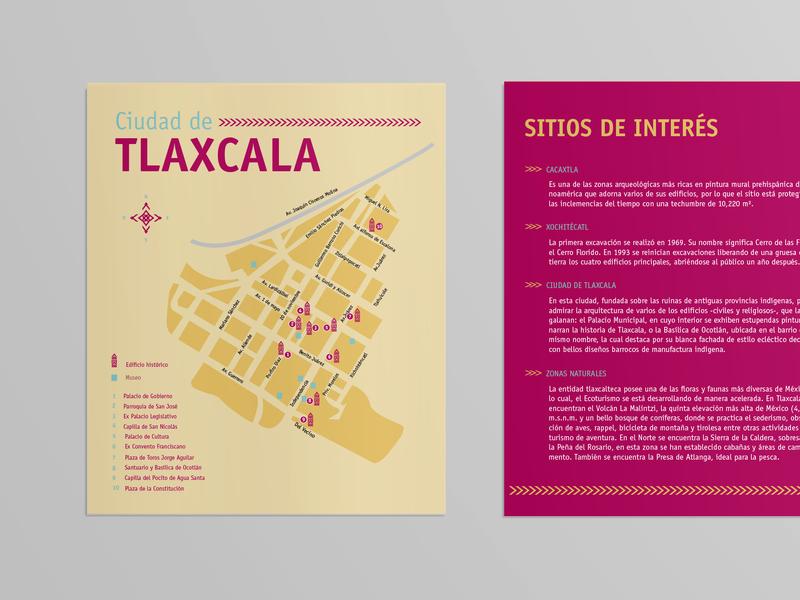 Ve y Vuelve travel branding map infographic design editorial design graphic design
