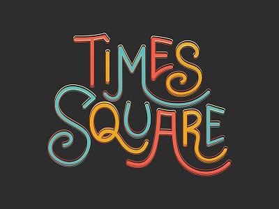 Times Square Geofilter snapchat handwritten typography ny new york times square geofilter