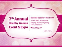 Healthy Woman Event Banner